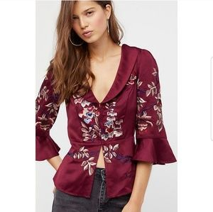 Beautiful Dreams Embroidered Top